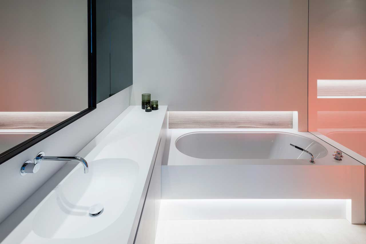 vivienda particular - hasselt - bélgica. Solid Surface for bathroom equipment
