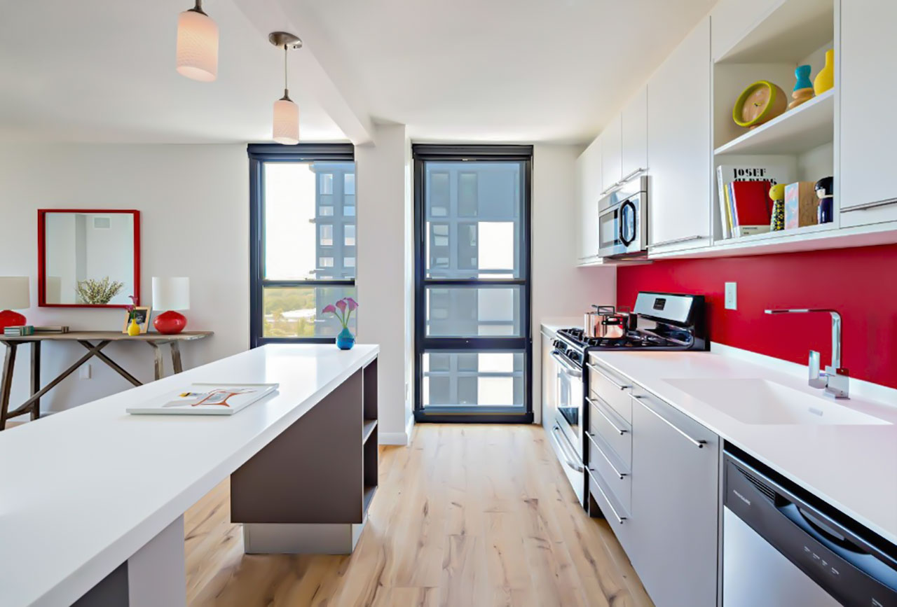 251 dekalb residential complex - philadelphia - usa. Solid Surface for countertops