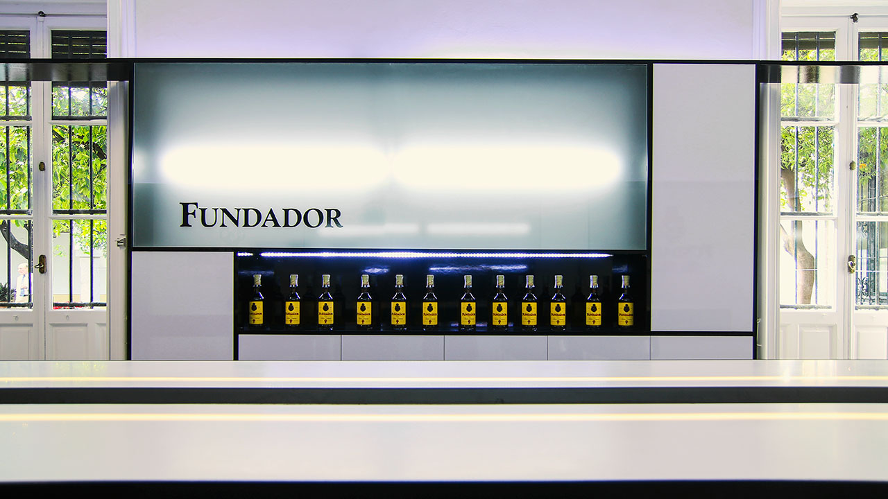 bodegas fundador - jerez de la frontera - cádiz - españa. Solid Surface for commercial furniture