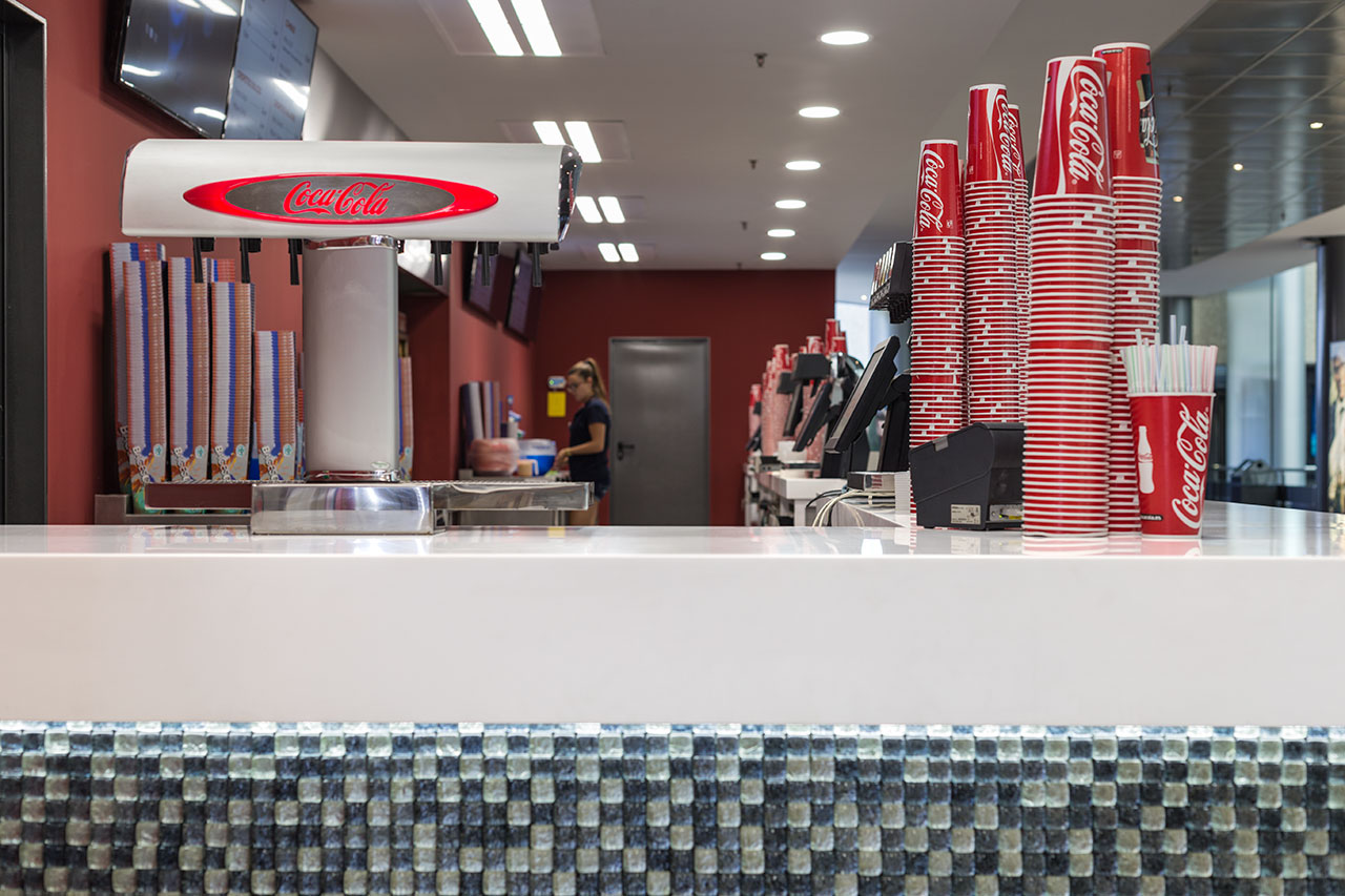 Solid surface countertops for catering | Solid Surface KRION®