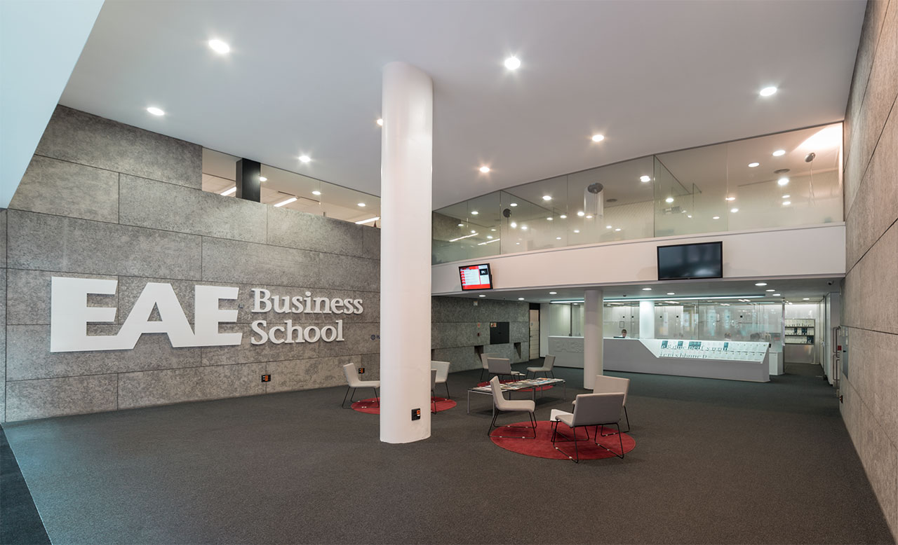 eae business school - barcelona - españa. Solid Surface for meble handlowe