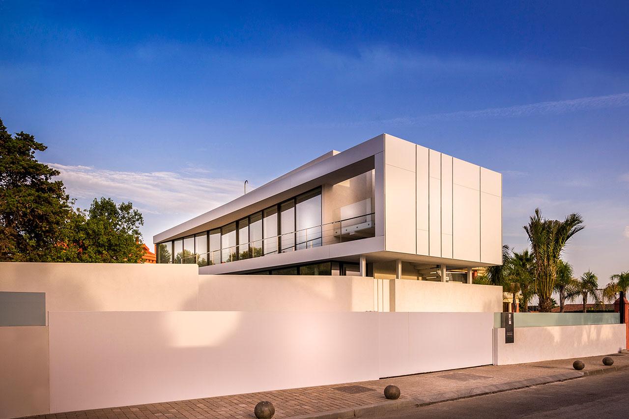 cool blue villa - marbella - malaga - españa. Solid Surface  revestimento exterior