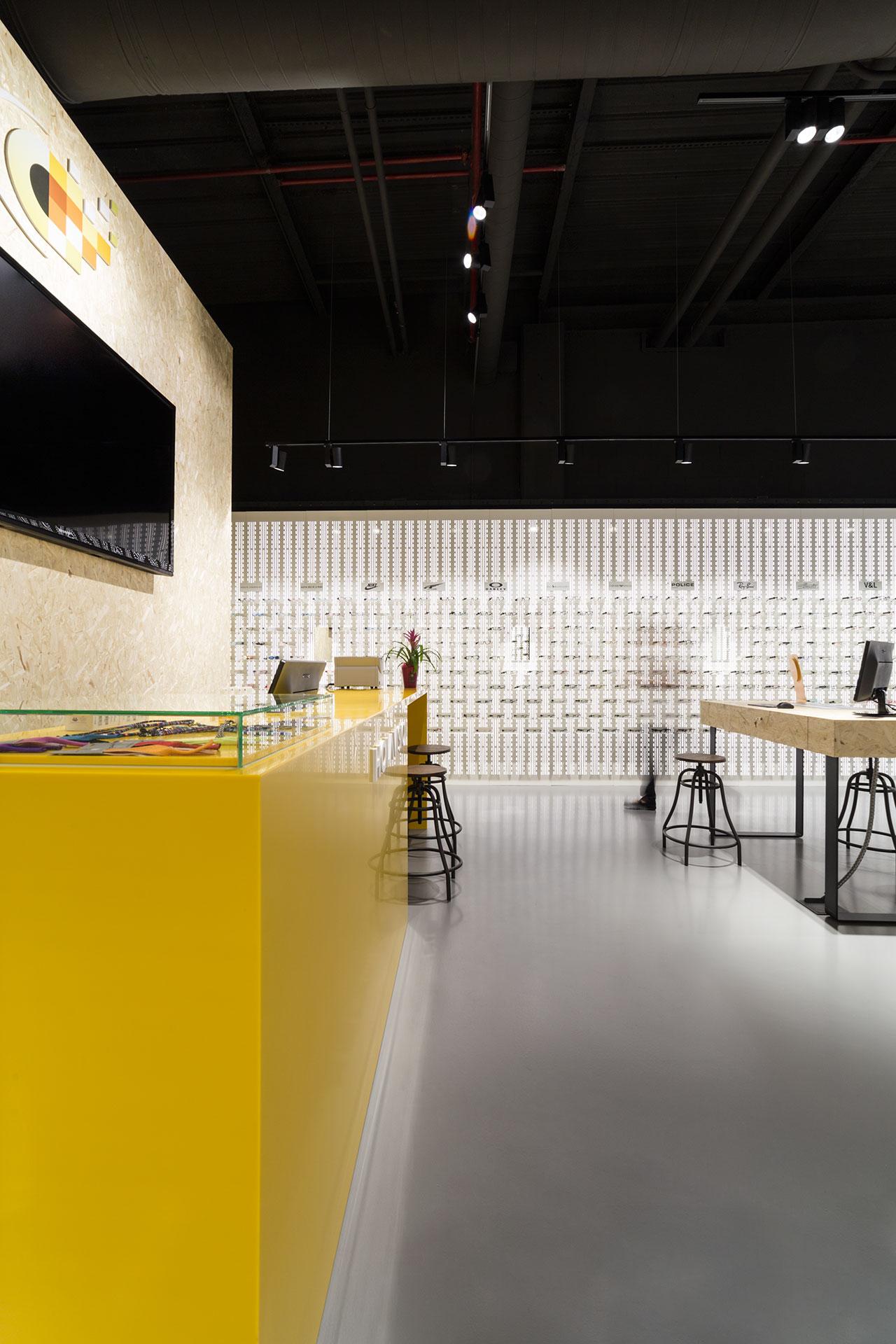 holavisio - san cugat - barcelona - españa. Solid Surface  商业和商务经营场址