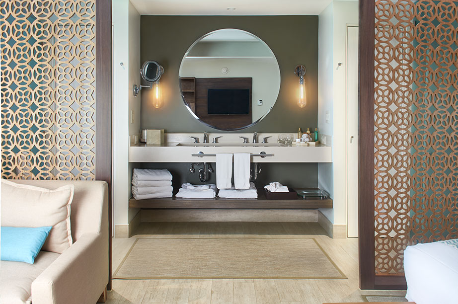 secrets resorts & spas, secrets papagayo - costa rica. Solid Surface for bathroom equipment