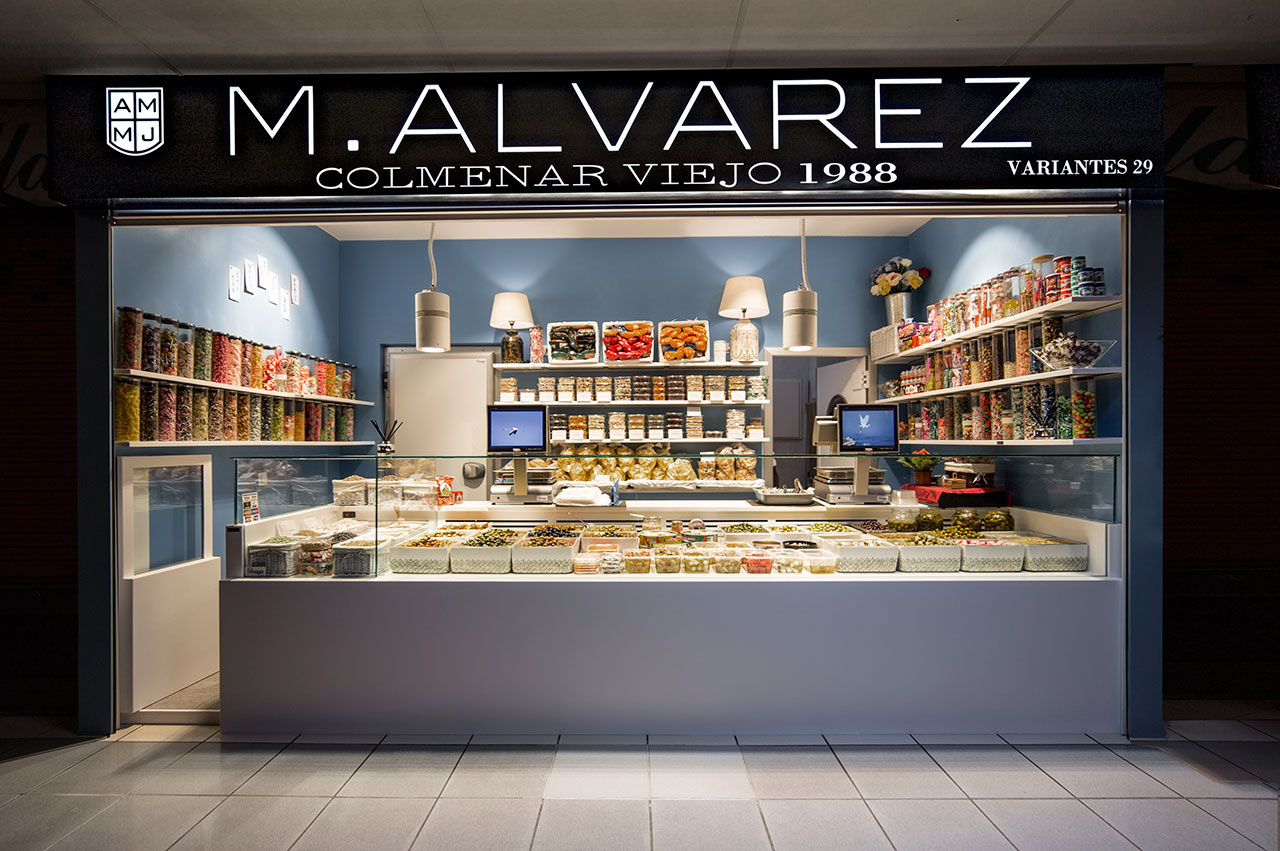 encurtidos m. alvarez - colmenar viejo - madrid - españa. Solid Surface for outdoor wall