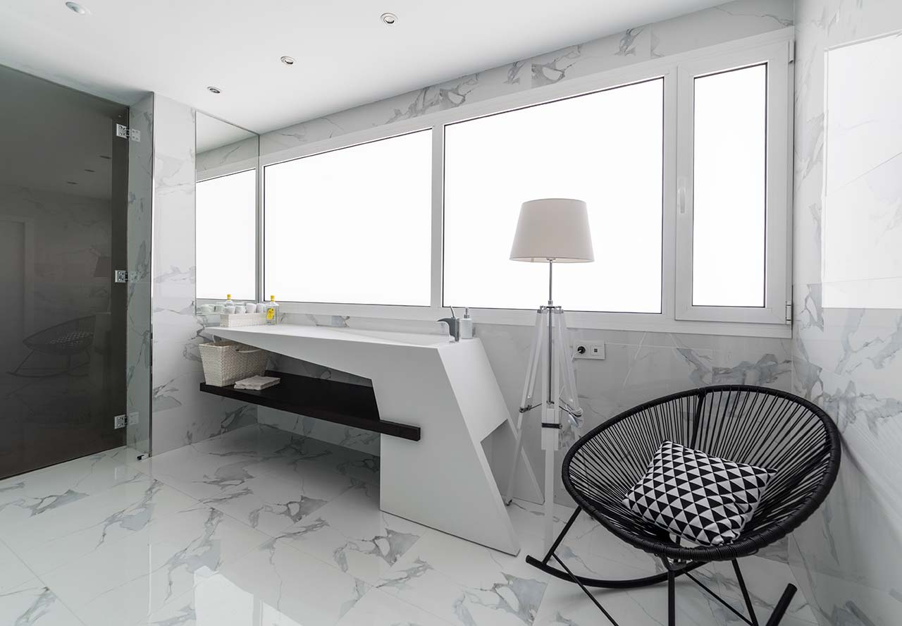 restaurante casa manolo - daimus - valencia - spain. Solid Surface for bathroom equipment