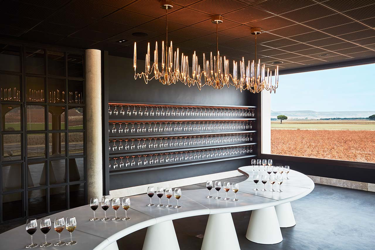 bodegas arzuaga navarro - valladolid - spain. Solid Surface  furniture