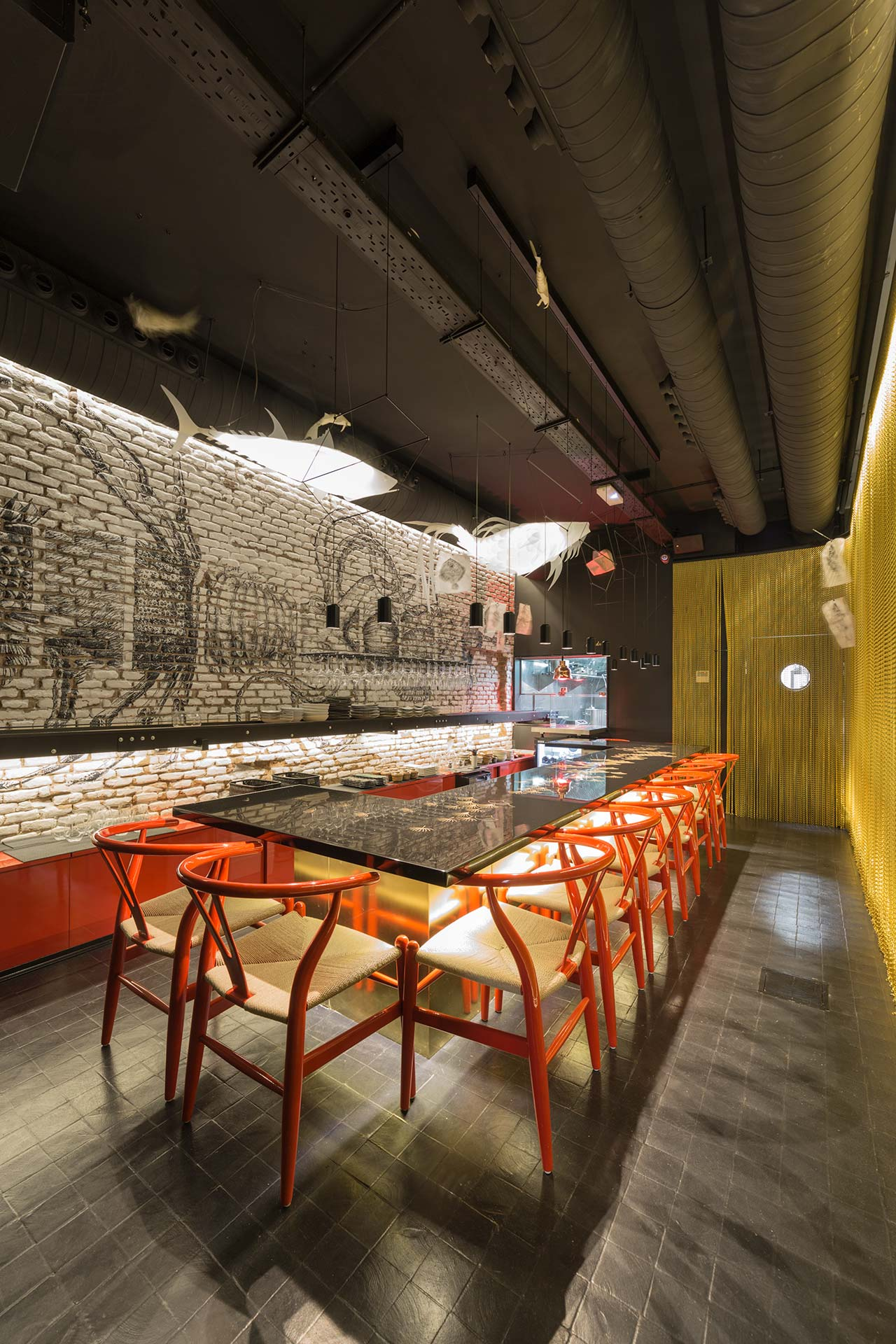 crudito restaurant - madrid - spain.   Рестораны