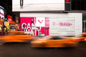 T-Mobile, Times Square - New York - USA