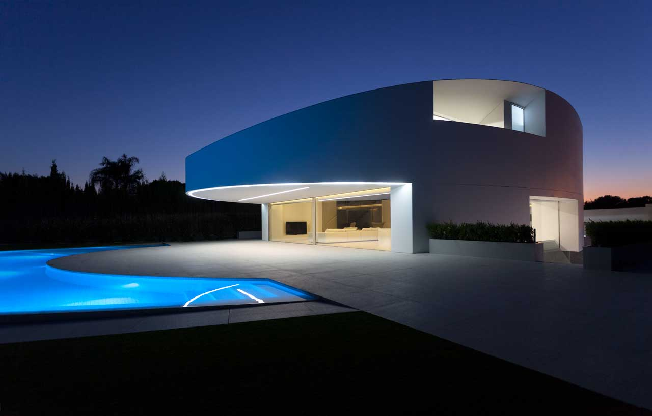 balint house – spain. Solid Surface for furniture