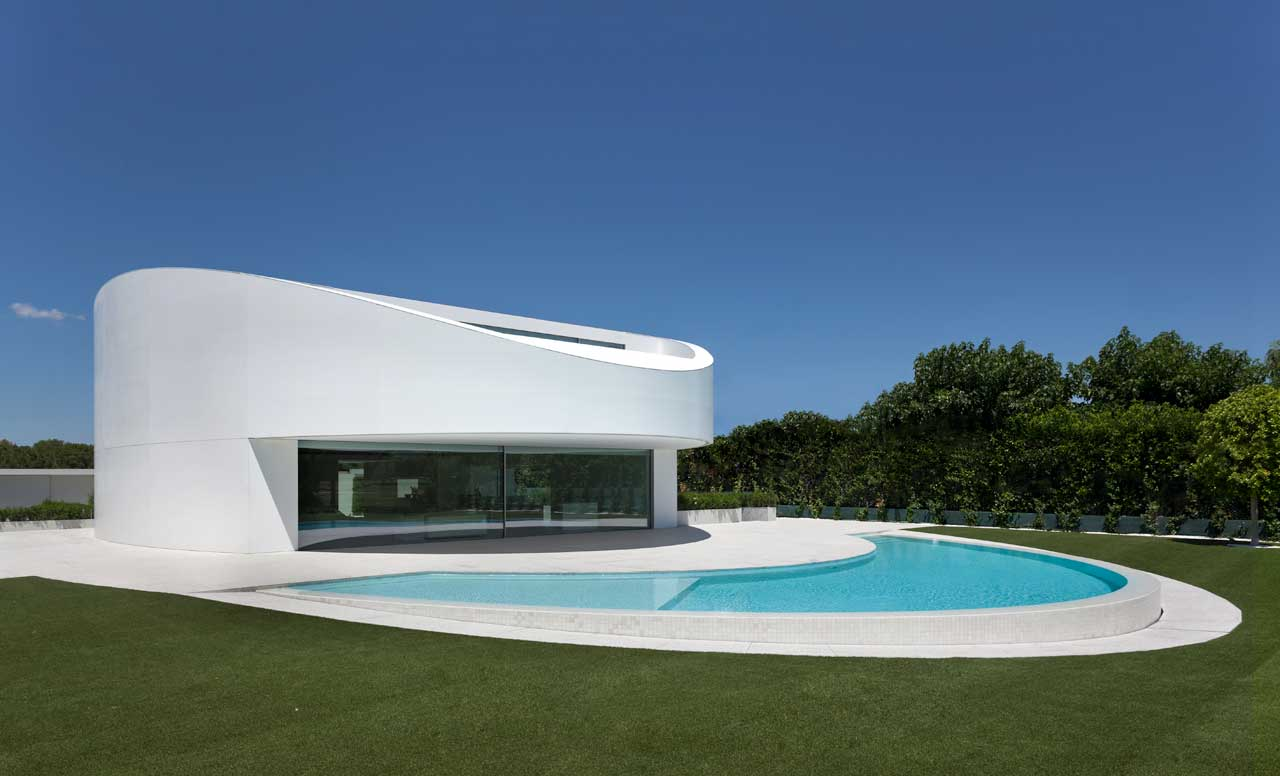 balint house – spain. Solid Surface for countertops