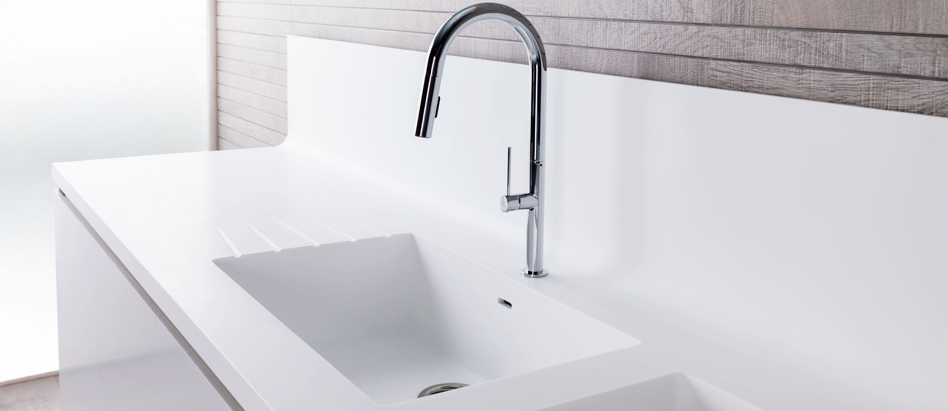 solid surface kitchen sinks | solid surface krion®