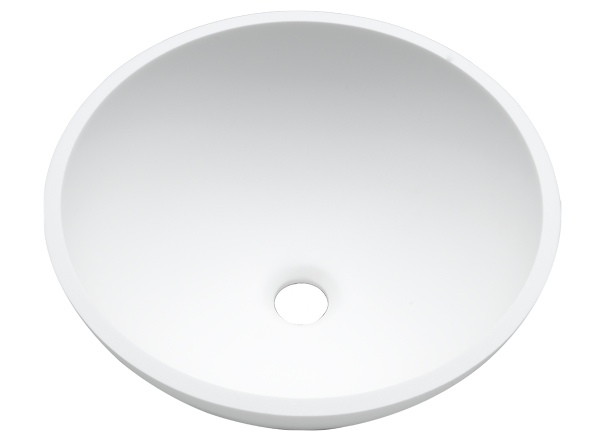 Solid Surface Washbasins Basic BC B209 D37 E