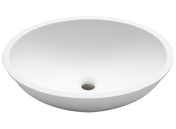 Solid Surface Washbasins Basic BC B413 46x37 E