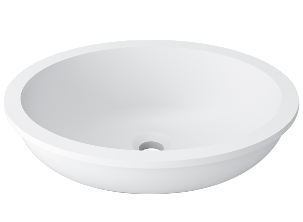 Solid Surface Washbasins Basic BC B415 40x31E