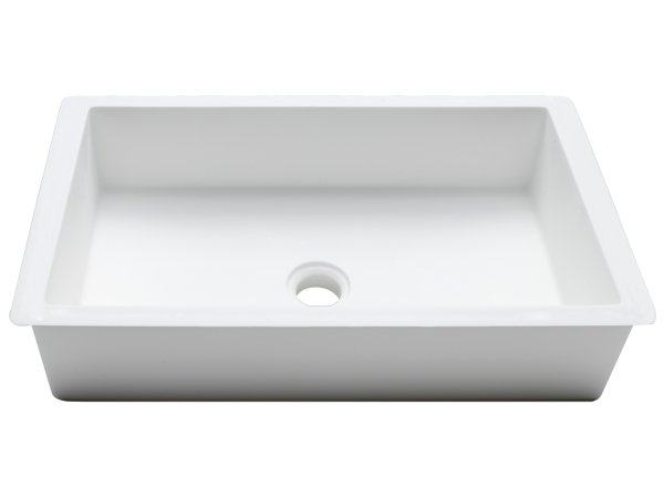 Solid Surface Umywalki Solid Surface Basic BC B810 48x28 E