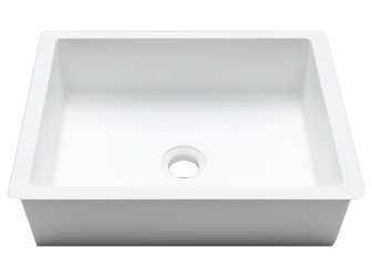 Porcelanosa BASIC Basic BC B811 38x28 E: Solid Surface Wastafels Solid Surface