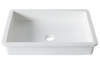 Porcelanosa BASIC Basic B817 50x35 E: Solid Surface Washbasins