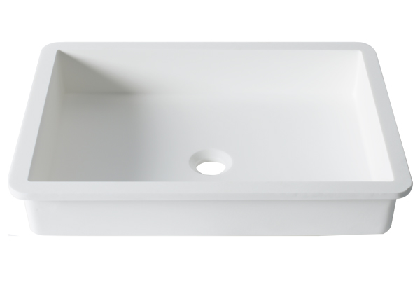 Solid Surface Washbasins Basic B817 50x35 E