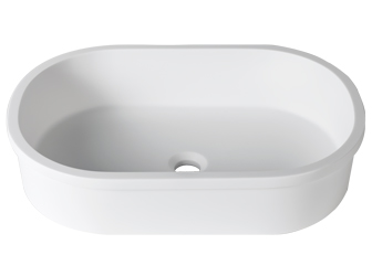 Porcelanosa 3 WAY 3-Way B414 60x40 E: Solid Surface Washbasins