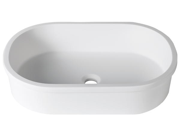 Solid Surface Washbasins 3-Way B414 60x40 E