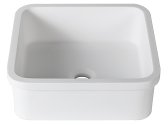 Porcelanosa 3 WAY 3-Way B603 40x40 E: Solid Surface Washbasins