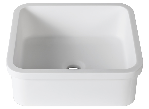 Solid Surface Washbasins 3-Way B603 40x40 E