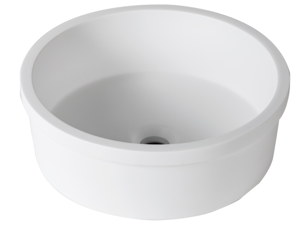 Solid Surface Washbasins 3-Way B210 D40 E
