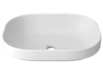 Porcelanosa UNIQUE Unique B812 52X38 SE: Solid Surface Washbasins