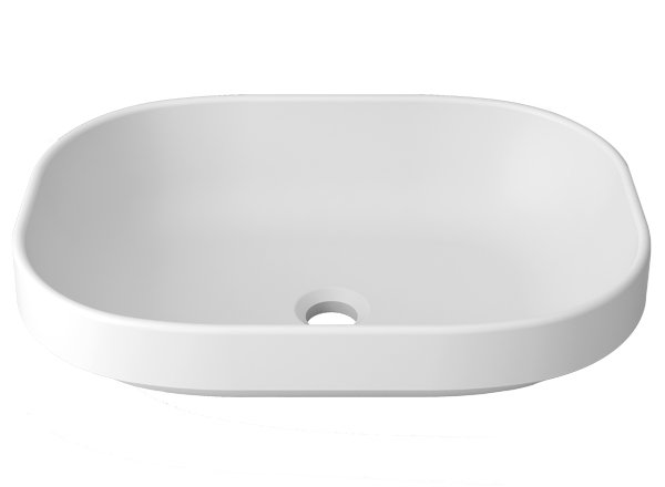 Solid Surface Washbasins Unique B812 52X38 SE