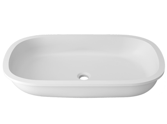 Porcelanosa UNIQUE Unique B814 68X38 E: Solid Surface Washbasins