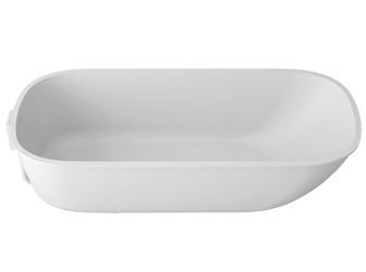 Porcelanosa UNIQUE Unique T801 - 155x65 cm E: Solid Surface Bathtubs Solid Surface