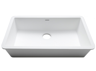 Porcelanosa BASIC Sinks Basic BC C824 70x40 E: Zlewozmywaki Solid Surface