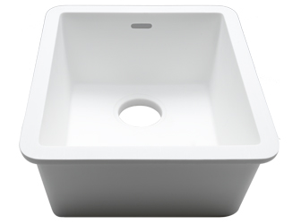 Porcelanosa BASIC Sinks Basic BC C825 40x34 E: Zlewozmywaki Solid Surface
