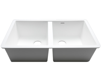 Porcelanosa BASIC Sinks Basic BC C826 77x40 E: Zlewozmywaki Solid Surface