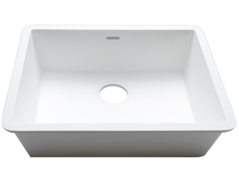 Porcelanosa BASIC Sinks Basic BC C831 50x40 E: Zlewozmywaki Solid Surface