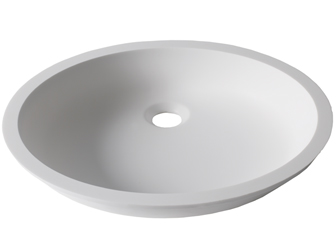Porcelanosa BASIC Basic BC D401 43x35 E: Solid Surface Washbasins