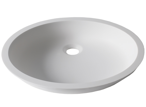 Solid Surface Washbasins Basic BC D401 43x35 E