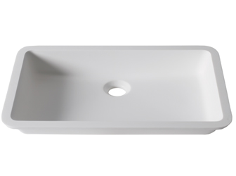 Porcelanosa BASIC Basic BC D801 48x28 E: Solid Surface Washbasins