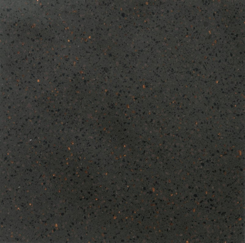 Porcelanosa ROYAL + Series Dark Copper: Solid Surface Krion platen