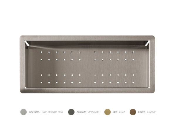 Solid Surface Accessori con la superficie solida Colander Inox