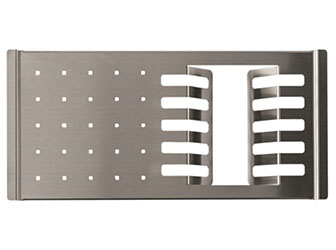 Porcelanosa Kitchen Dish Drainer Rack Inox: Accessori con la superficie solida Solid Surface