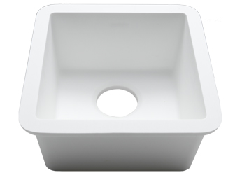 Porcelanosa BASIC Sinks Basic BC C606 30x30 E: Zlewozmywaki Solid Surface