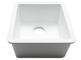 Porcelanosa BASIC Sinks Basic BC C827 40x34 E: Zlewozmywaki Solid Surface