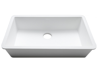 Porcelanosa BASIC Sinks Basic BC C829 70x40 E: Zlewozmywaki Solid Surface