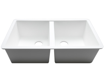 Porcelanosa BASIC Sinks Basic BC C830 77x40 E: Zlewozmywaki Solid Surface
