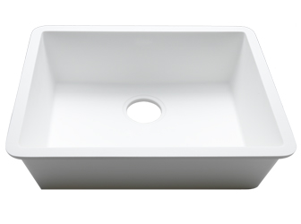 Porcelanosa BASIC Sinks Basic BC C832 50x40 E: Zlewozmywaki Solid Surface