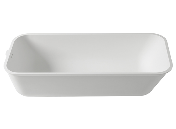 Solid Surface Solid Surface Bathtubs 3-Way T804 - 165x70 cm