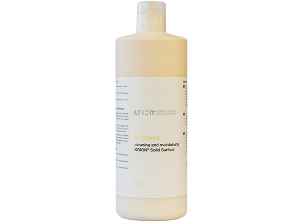 Accessoires en Surface Solide Bottle K-Cream