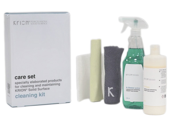 Solid Surface Accessori con la superficie solida Cleaning Kit